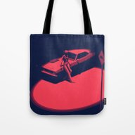 Tote Bag featuring Peachy by Anton Marrast