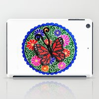 Red Butterfly iPad Case