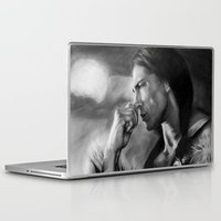 native american Laptop & iPad Skins featuring Native American  by Thubakabra