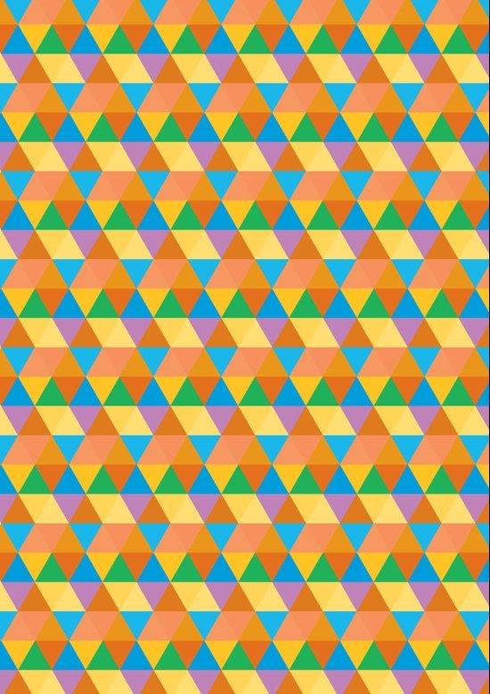 3-Point Pattern Canvas Print