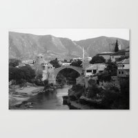 The Old Bridge, Mostar Canvas Print