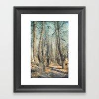 Memory Lane Framed Art Print