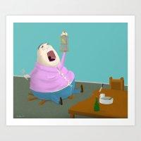 Eater Art Print