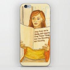 Holy F**k Magazine iPhone & iPod Skin