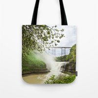 Spring Canyon - Railroad Trussel Tote Bag