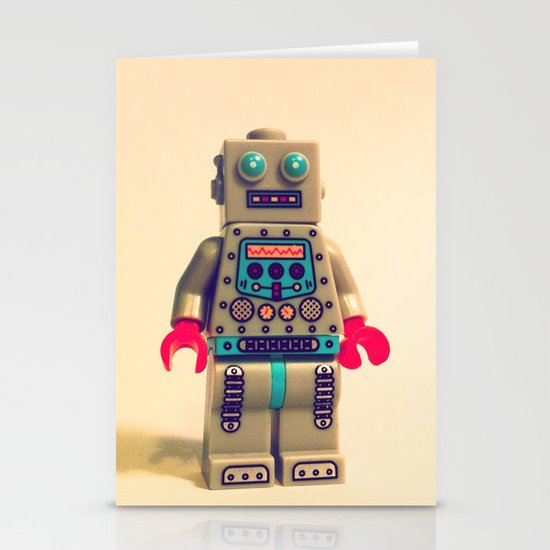 Robot 2000 Stationery Card