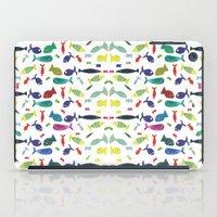 Happy colourful fish  iPad Case