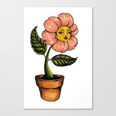 wildwood flower Canvas Print