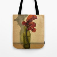 Tote Bag featuring Calla lilies in bloom by Megs stuff...
