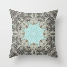 Point The Icicles Throw Pillow