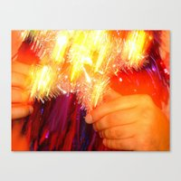 Canvas Print featuring B R A i N by kid Icarus