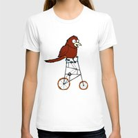 I'm Going Shopping Womens Fitted Tee White SMALL
