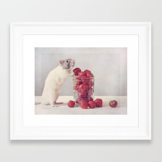Snoozy Framed Art Print