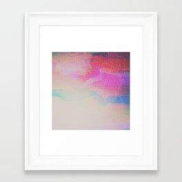 Framed Art Print - Glitch 09 - Seamless