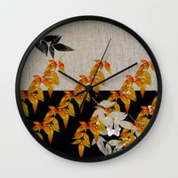 Japanese subtlety Wall Clock