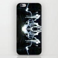Lights Mirror Image II iPhone & iPod Skin