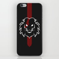Monarch (White & Red) iPhone & iPod Skin