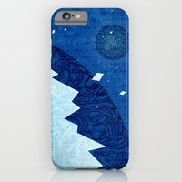 iPhone & iPod Case featuring Ice Planet by Kinnon Elliott Illustration & Design
