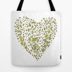 Nature heart Tote Bag
