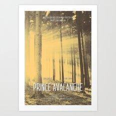 Prince Avalanche - Movie Poster Art Print