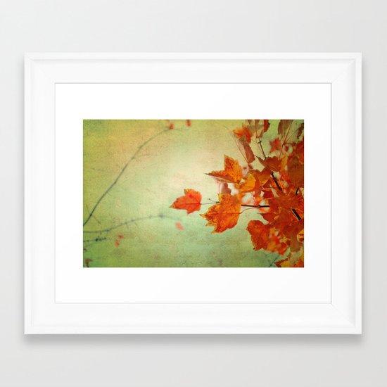 Whispers of Autumn Framed Art Print