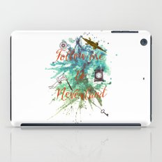 Follow me to Neverland iPad Case