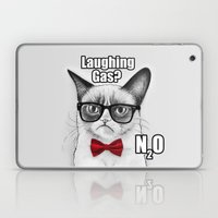 Grumpy Chemistry Cat Laptop & iPad Skin