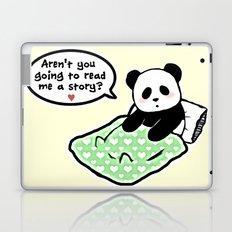 Read panda a story Laptop & iPad Skin