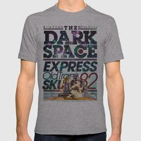 The Dark Space Mens Fitted Tee Athletic Grey SMALL