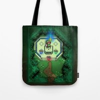Zelda Link to the Past Master Sword Tote Bag