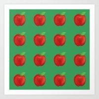 Apples Apples Art Print