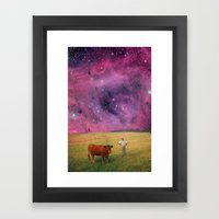 How Now Brown Cow #2 - W… Framed Art Print