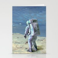 Cosmos & Indians Stationery Cards