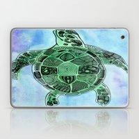 Tatoo Sea Turtle Laptop & iPad Skin