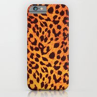 iPhone & iPod Case featuring Leopard Pattern by Stefan Trudeau