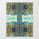 NYC in patterns Canvas Print