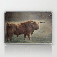 The Highland Bull Laptop & iPad Skin