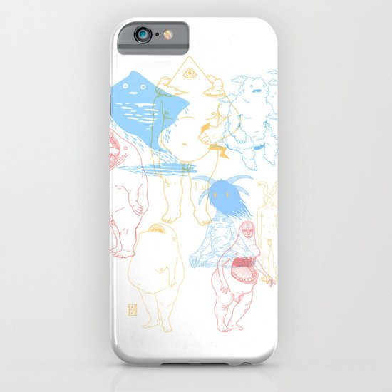 Gods of the Planets iPhone & iPod Case