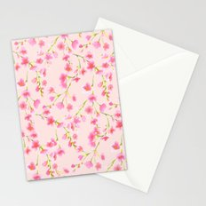 Cherry Blossoms Pink on Pink (For Mackenzie) Stationery Cards