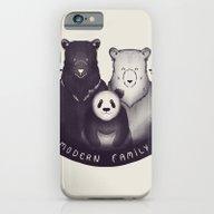 Modern Bear Family iPhone 6 Slim Case