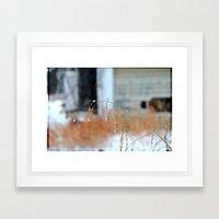 Droplets, 3 Framed Art Print