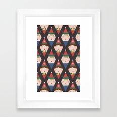 Day 25/25 Advent - A Chr… Framed Art Print