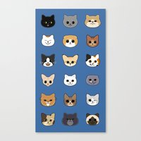 Happy Cats Canvas Print