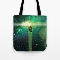 Super Bears - ACTION! the Green One Tote Bag
