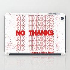 No Thanks iPad Case
