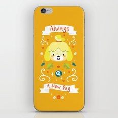 Animal Crossing: Isabelle iPhone & iPod Skin
