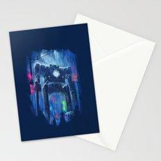 Impressionist Robot Stationery Cards