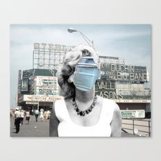 Marilyn meets Atlantic City Canvas Print