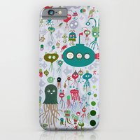iPhone & iPod Case featuring sea life by Asja Boros