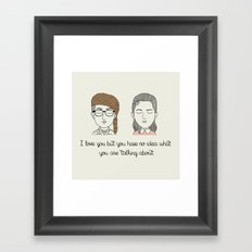 S & S Framed Art Print